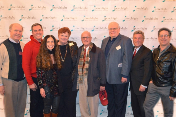 Members of Porchlight's Board of Directors: Ron Zoromski, Tony Gibson, Tamara Sims, Mary Kay Conley, Kim Sargent, Jim Jensen, Steve Baim and Greg Viti