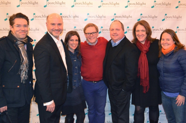 TimeLine Theatre Company's Artistic Director PJ Powers, Porchlight Music Theatre's Artistic Director Michael Weber, TimeLine Associate Artist Kimberly Senior and  TimeLine Associate Artist and Porchlight's Sondheim on Sondheim Dramaturg Alec Weisman, Ti