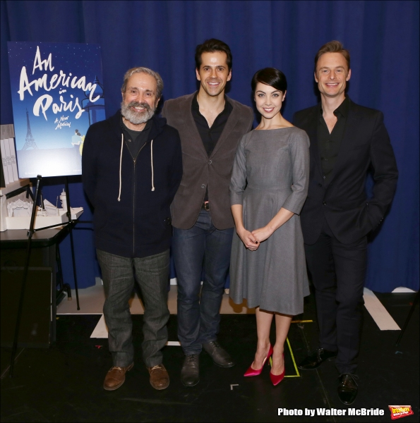 Playwright Craig Lucas, actors Robert Fairchild, Leanne Cope and director/choreographer Christopher Wheeldon