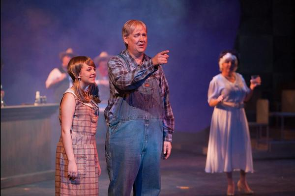 Photo Flash: First Look at VIOLET, Starring Kathryn Parks, Brian Craft & Michael Mendez at Sarasota Players
