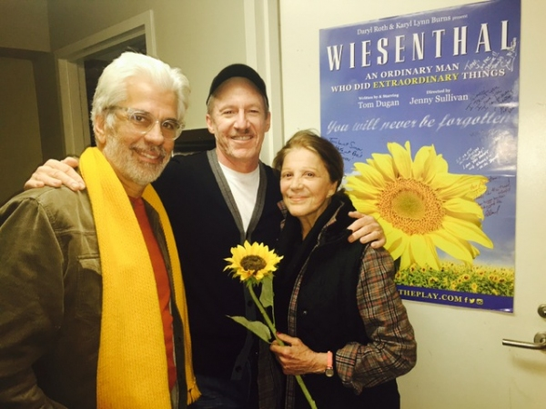 Steve Bakunas, Tom Dugan, Linda Lavin Photo