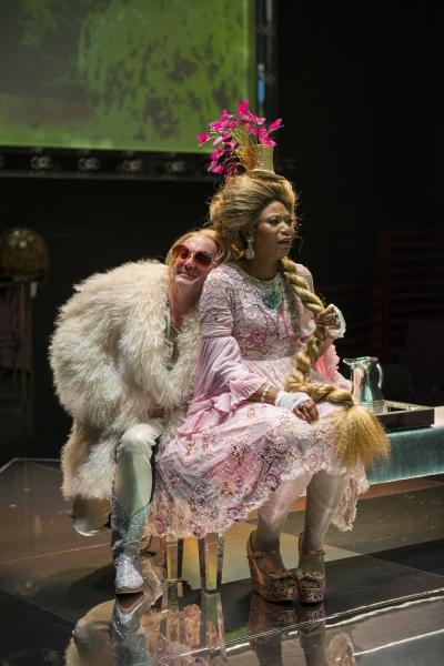 Ensemble members Alan Wilder (Sheep) and Alana Arenas