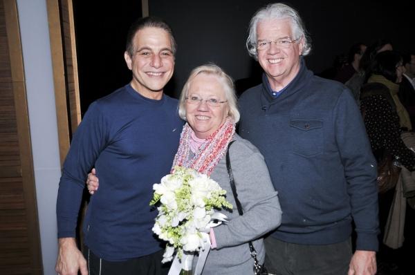Tony Danza & Bouquet Toss Winners