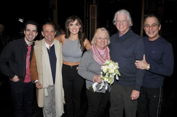 Cast with Joel Grey