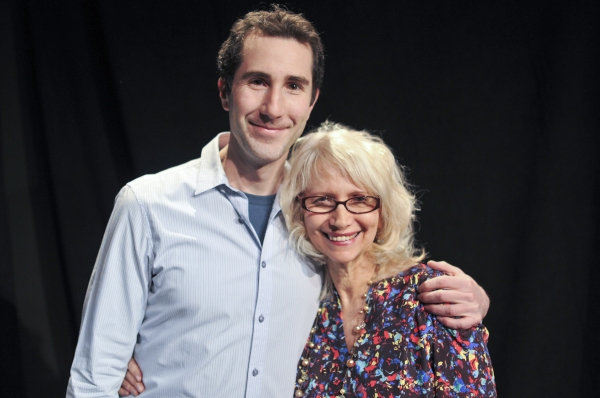 Diana Amsterdam with Dave Solomon