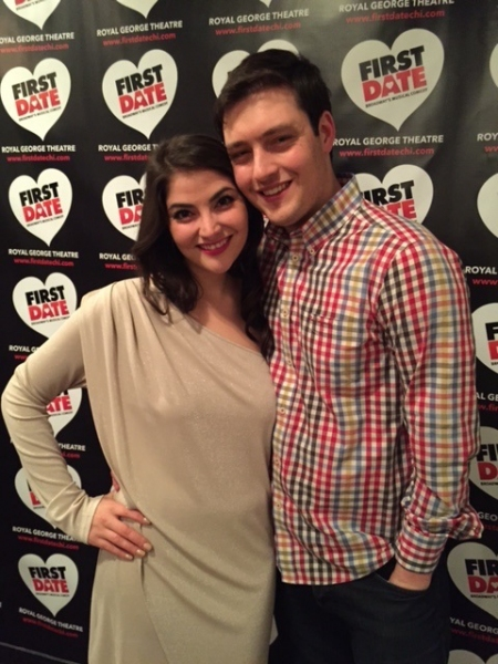 Photo Flash: FIRST DATE Opens in Chicago at Royal George Cabaret!