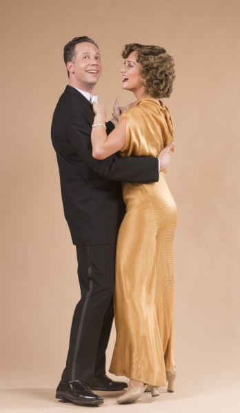 Ryan Drummond and Brittany Danielle star as Nick and Nora Charles