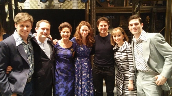 Photo Flash: Tom Cruise Visits West End Cast of BEAUTIFUL: THE CAROLE KING MUSICAL