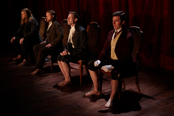 Harlan Alford (Heathcliff), Nathaniel Basch-Gould (Laurie), Preston Martin (Darcy), Jon Riddleberger (Rochester)