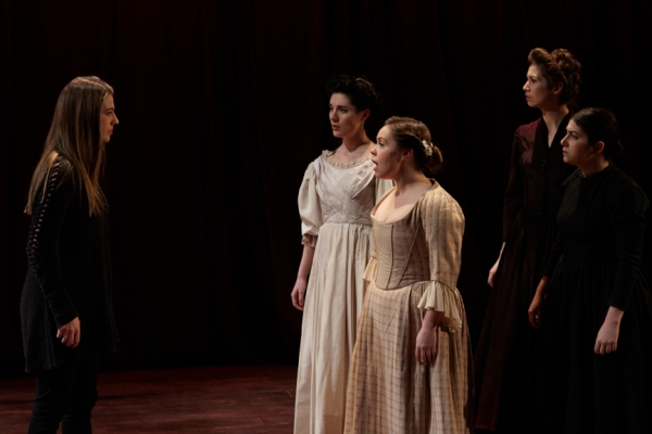 Claire Rothrock (River Sister), Kelly Rogers (Lizzy), Lauren Swan-Potras (Jo), Anasta Photo