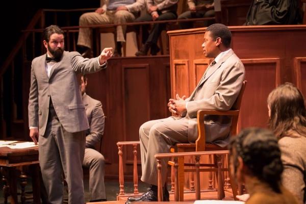 Jack Birdwell (T.E. Hancock), Andre Teamer (Moses Fleetwood Walker)