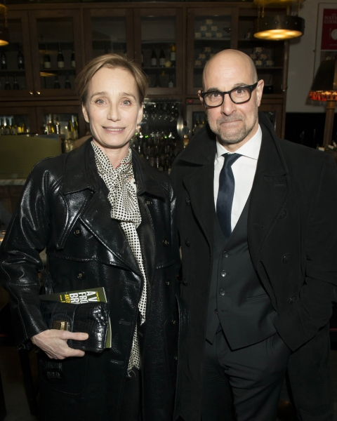 Kristin Scott Thomas and Stanley Tucci