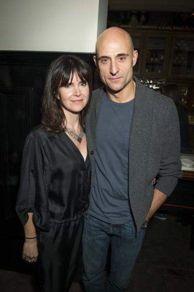 Mark Strong and Liza Marsahall   Photo