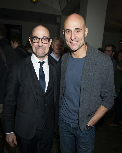 Stanley Tucci and Mark Strong