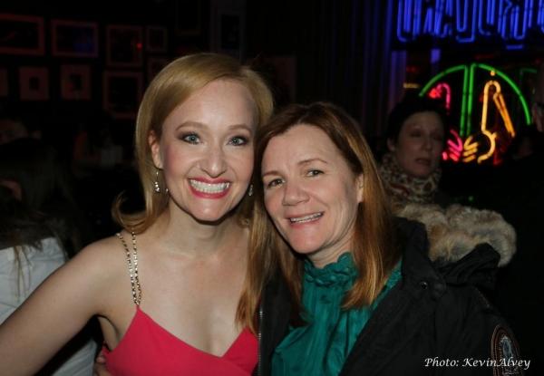 Melissa van der Schyff and Mare Winningham