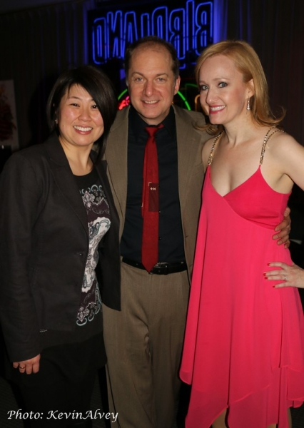 Sharon Minemoto, Dan Jenkins and Melissa van der Schyff Photo