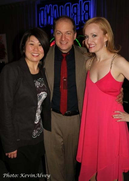 Sharon Minemoto, Dan Jenkins and Melissa van der Schyff