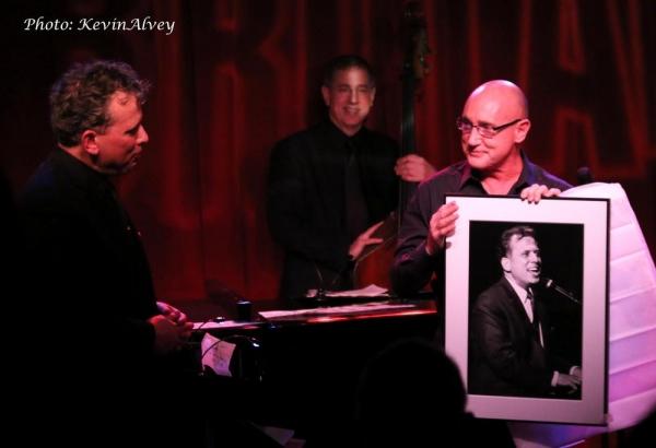 Billy Stritch, Tom Hubbard and Gianni Valenti