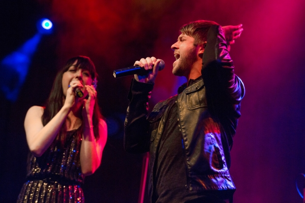 Lena Hall and Eric Michael Krop