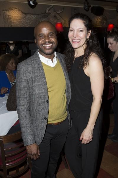 Jeff Augustin and Giovanna Sardelli