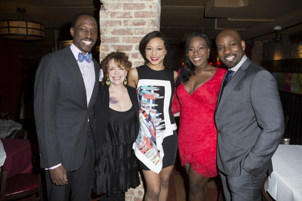 Carl Hendrick Louis, Deirdre O'Connell, Carra Patterson, Crystal Lucas-Perry and Maur Photo
