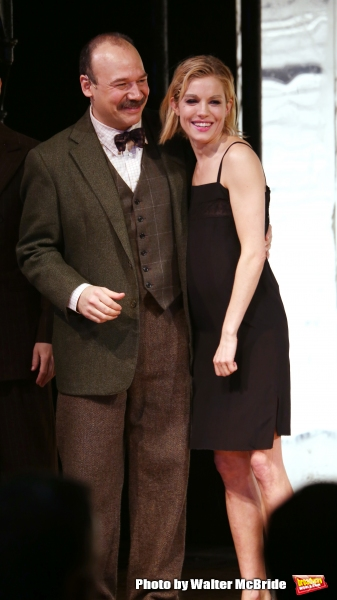 Danny Burstein and Sienna Miller