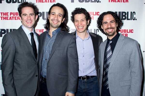 Photo Coverage: Lin-Manuel Miranda & More Celebrate Opening Night of HAMILTON at the Public Theater!