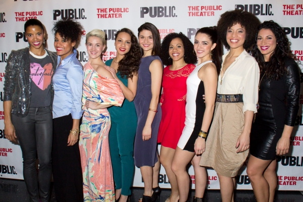 Renee Elise Goldsberry, Ariana Debose, Betsy Struxness, Jasmine Cephas Jones, Phillipa Soo, Alysha Deslorieux, Carleigh Bettiol, Sasha Hutchings, Stephanie Klemons