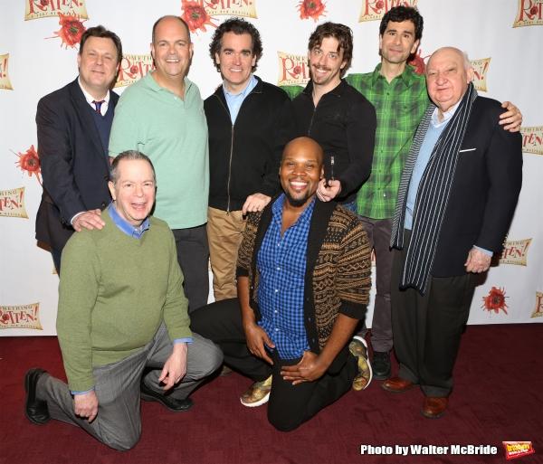 Brooks Ashmanskas, Peter Bartlett, Brad Oscar, Brian D'Arcy James, Michael James Scott, Christian Borle, John Cariani and Gerry Vichi