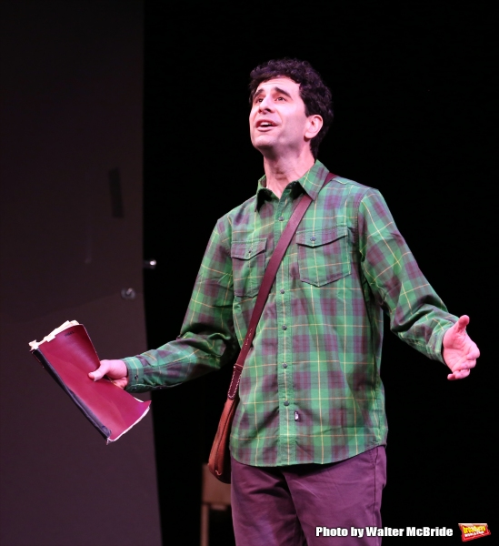 John Carian during a rehearsal presentation of 'Something Rotten! A Very New Musical'  at the Little Shubert Theatre on February 17, 2015 in New York City.