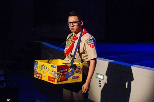 Shaun Tuazon as Chip Tolentino in Intrepid Shakespeare Company''s The 25th Annual Putnam County Spelling Bee