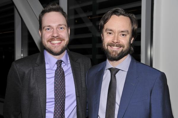 Director Moritz von Stuelpnagel (Hand to God) and Playwright Nick Jones