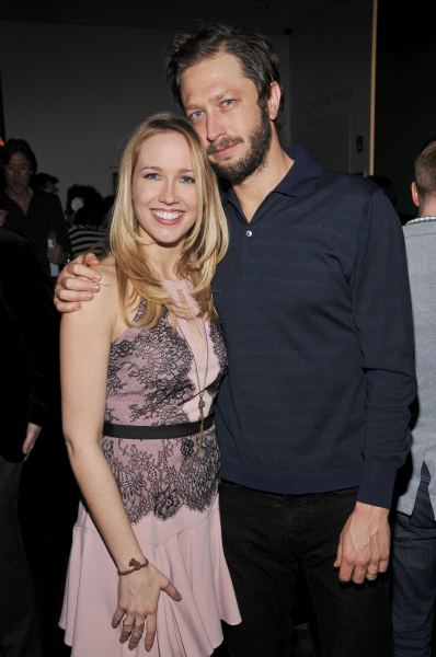 Anna Camp and Ebon Moss-Bachrach