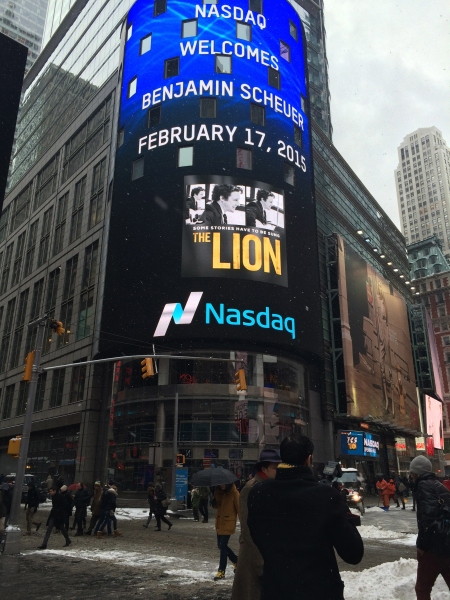 Exclusive Photo Diary: Spend a Day with THE LION's Benjamin Scheuer!