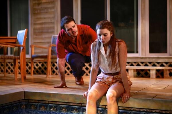 Max Adoff (Sam) and Natalie Oliver (Sally)