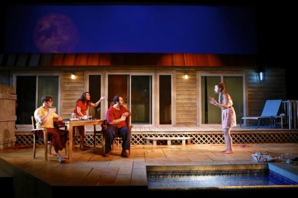 Carl Fisk (John), Bryn Dolan (Chloe), Max Adoff (Sam), and Natalie Oliver (Sally) Photo