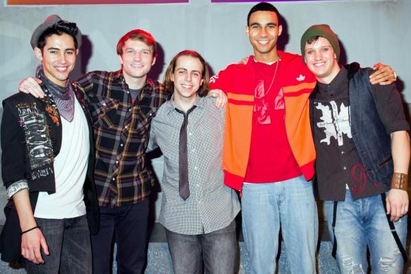 One Day Production Photo - Marco Ramos, Aaron Scheff, Ben Shuman, Austin Scott, Andy Spencer