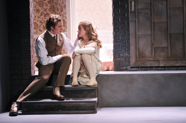 The Nether Production Photo - Ben Rosenfield and Sophia Anne Caruso