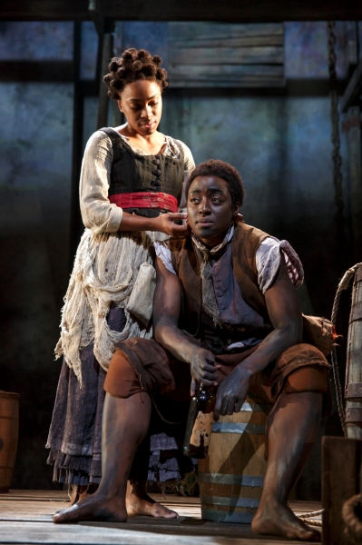 Photo Flash: First Look at Naomi Wallace's THE LIQUID PLAIN, Now Playing at Signature Theatre