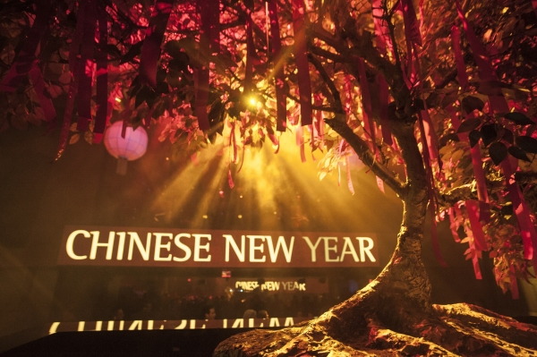 Photo Flash: Hakkasan Las Vegas Welcomes Chinese New Year by Honoring 'Wishing Tree' Tradition