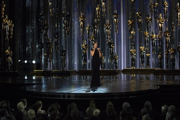 THE OSCARS(r) - THEATRE - The 87th Oscars, held on Sunday, February 22, 2015, at the Dolby Theatre(r) at Hollywood & Highland Center(r), are televised live on the ABC Television Network at 7 p.m., ET/4 p.m., PT. (A.M.P.A.S.(r)/Michael Yada)JENNIFER HUDSON
