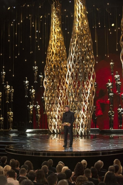 THE OSCARS(r) - THEATRE - The 87th Oscars, held on Sunday, February 22, 2015, at the Dolby Theatre(r) at Hollywood & Highland Center(r), are televised live on the ABC Television Network at 7 p.m., ET/4 p.m., PT. (A.M.P.A.S.(r)/Michael Yada)SEAN PENN