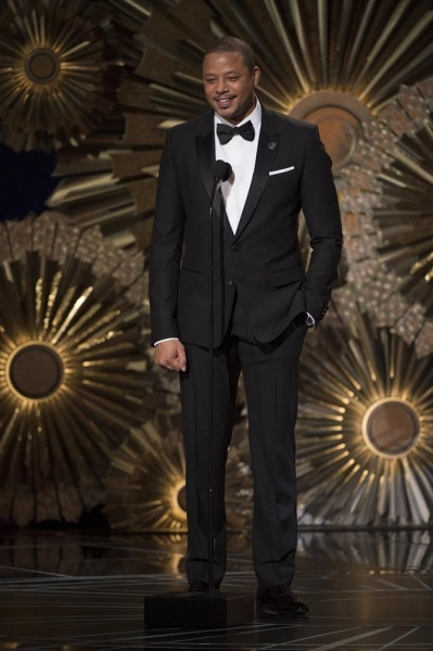 THE OSCARS(r) - THEATRE - The 87th Oscars, held on Sunday, February 22, 2015, at the Dolby Theatre(r) at Hollywood & Highland Center(r), are televised live on the ABC Television Network at 7 p.m., ET/4 p.m., PT. (A.M.P.A.S.(r)/Michael Yada)TERENCE HOWARD