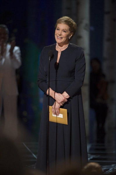 THE OSCARS(r) - THEATRE - The 87th Oscars, held on Sunday, February 22, 2015, at the Dolby Theatre(r) at Hollywood & Highland Center(r), are televised live on the ABC Television Network at 7 p.m., ET/4 p.m., PT. (A.M.P.A.S.(r)/Michael Yada)JULIE ANDREWS