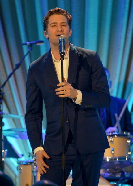 LOS ANGELES, CA - FEBRUARY 21:  Actor Matthew Morrison performs onstage during The We Photo