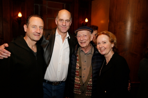 Sam Robards, John Bedford Lloyd, Alan Mandell, Kate Burton Photo