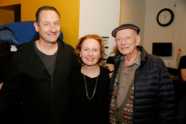 Sam Robards, Kate Burton, Alan Mandell  Photo