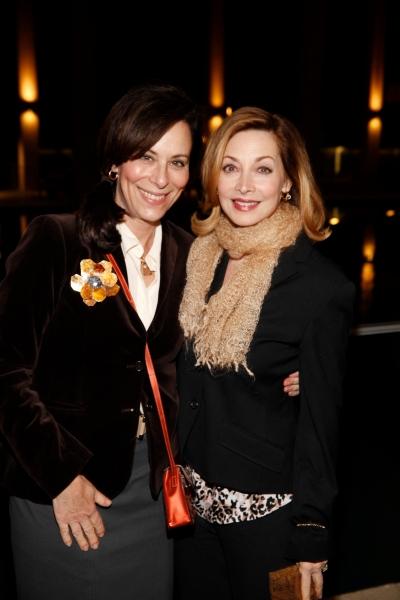 Jane Kaczmarek and Sharon Lawrence
