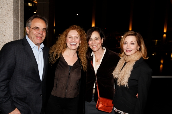 Will Prappas, Sharon Sharth, Jane Kaczmarek and Sharon Lawrence