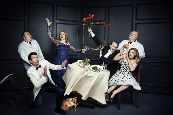Blake Hammond, Jerry O'Connell, Renee Fleming, Douglas Sills, Scott Robertson and Anna Chlumsky